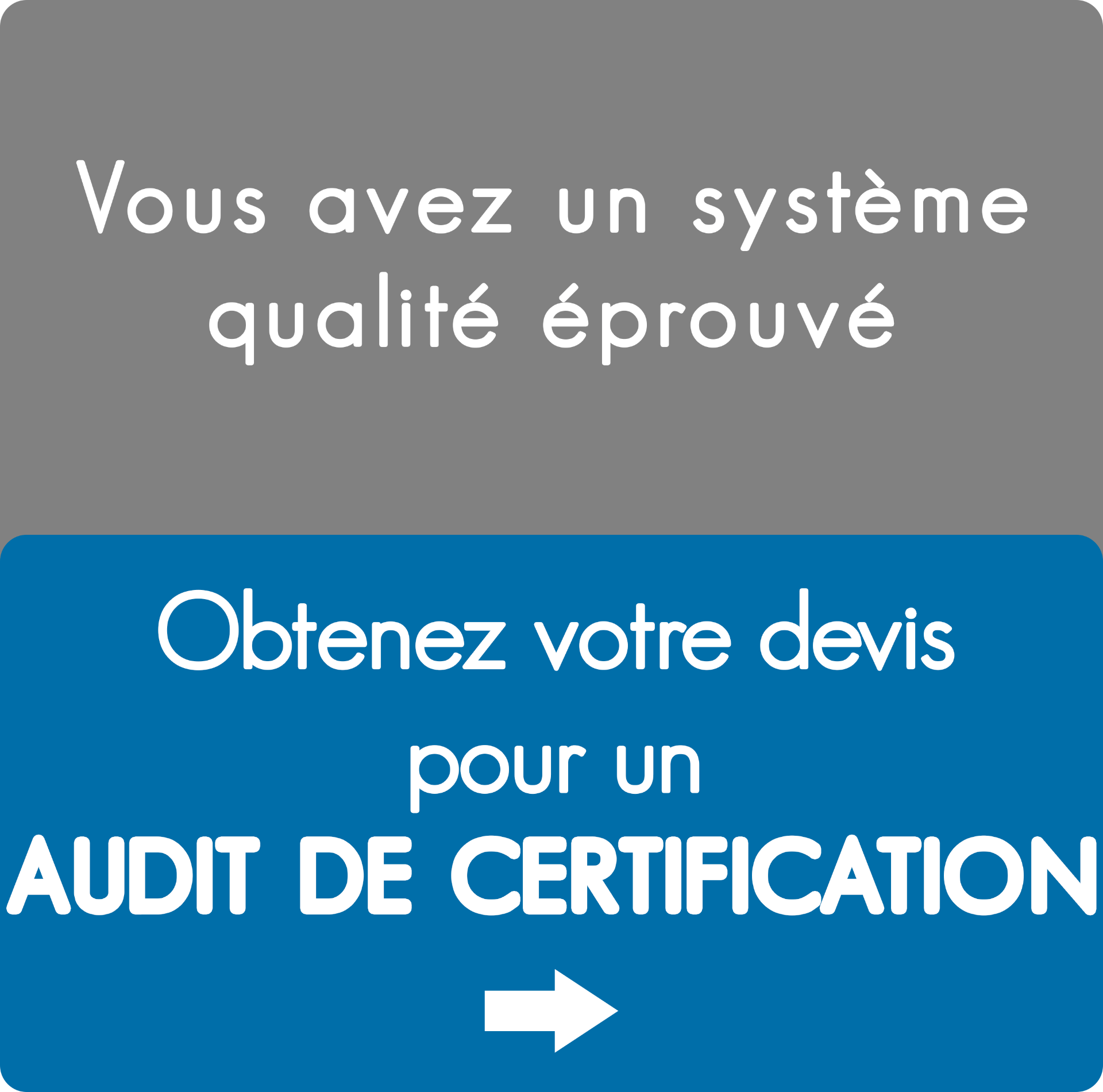 Audit de certification